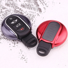 5 Colors Soft TPU Car Key Case Cover Holder Shell for Mini Cooper Clubman Countryman F56 F55 F54 Key Chain Accessory Car-styling engine cover trunk cover line car stickers and decals car styling for mini cooper clubman f55 f56 sticker decoration accessories