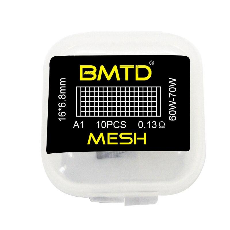 Bmtd 10Pcs/Lot Meshwork Pre Built Coils Mesh Style Coil Wire For Vandy Vape Rtas Wotofo Profile Rda