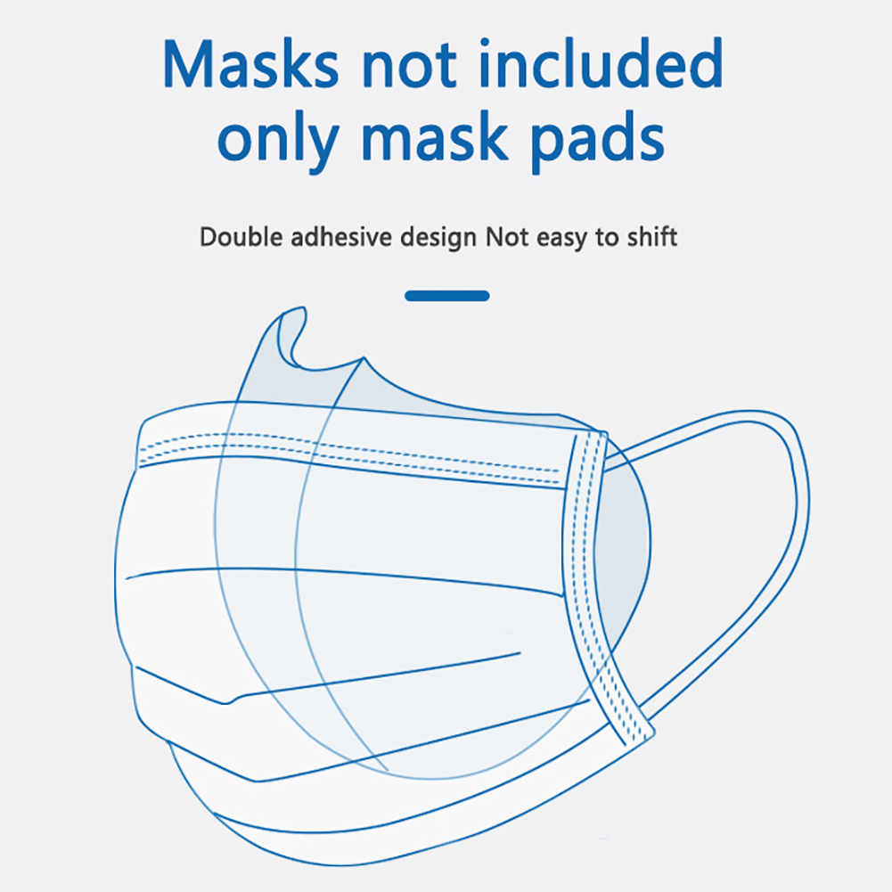 Reusable Sponge Mask Inner Cushion Support Protect Mask Filter Covers Reusable  Anti-dust Core Mask Filter Support