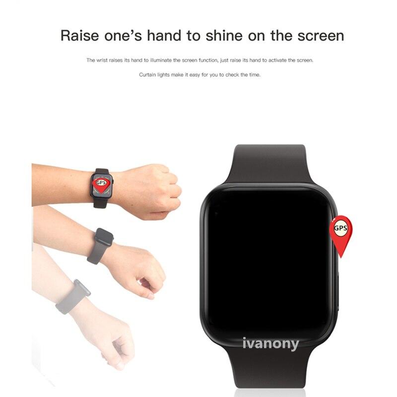 GPS SmartWatch IWO 11 Smart Watch Women IWO11 Heart Rate Monitor Call Message Reminder for Iphone Android VS IWO 9 IWO 8 W34 - 4