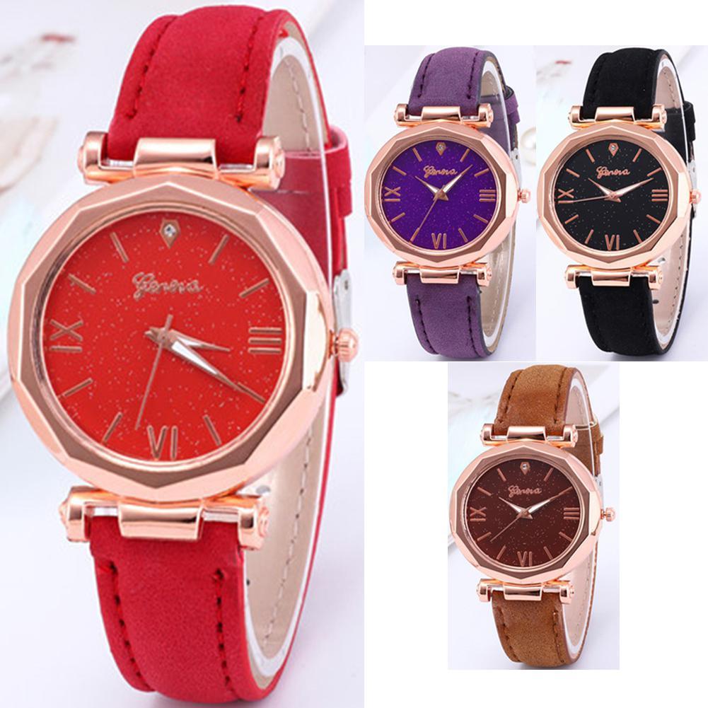 Women Elegant Exquisite Diamond Luminous Quartz Watch All-match Girls Wristwatch