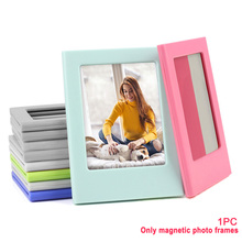 Refrigerator-Stickers Photo-Frame Polaroid Magnetic Hanging Double-Sided-Display Home-Decor