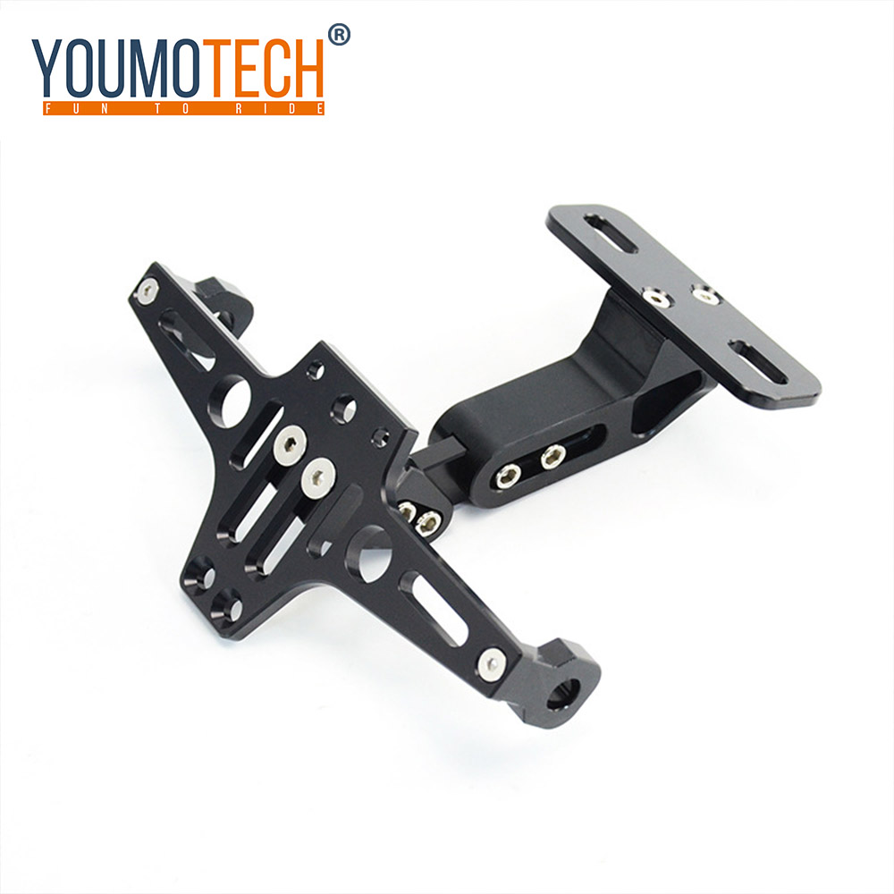 Adjustable Alu License Number Plate Holder Bracket Fender Eliminator Tail Tidy