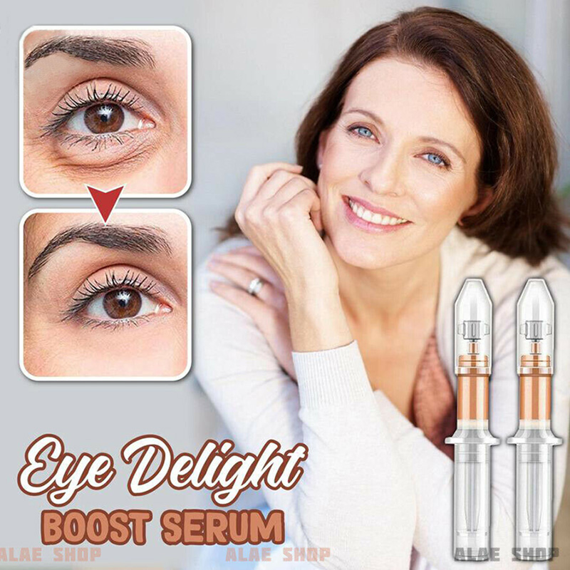 Hot Eye Delight Boost Serum Essence Anti Puffiness Rapidly Wrinkles Fine Lines Eye Bag Long Lasting Removal Eye Cream Skin Care