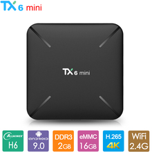 TX6mini Android 9.0 TV Box Allwinner H6 Quad Core Smart
