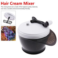 Hair Dye Cream Mixer Salon Hair Coloring Bowl color hair Big Capacity Barber Stirrer Blender Big Capacity Hair Dye Cream Mixer(China)