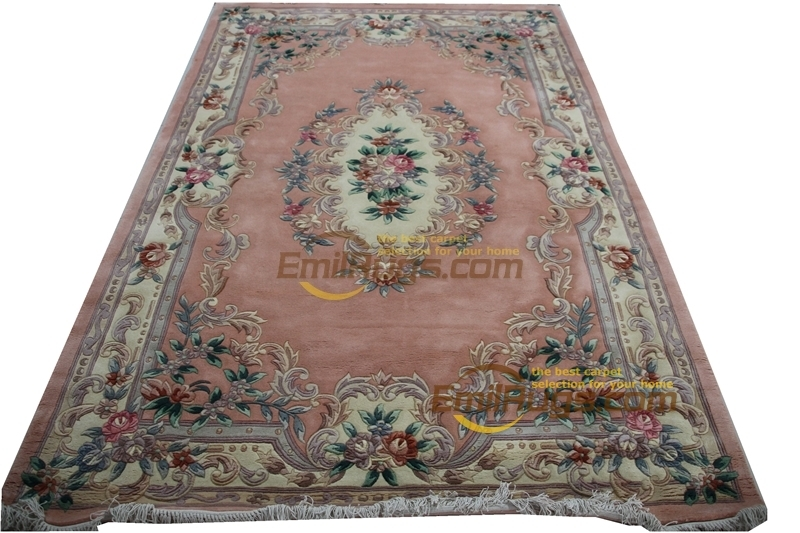 Savonnerie Woven Wool Carpet Design French About Machine Made Thick Plush Savonnerie