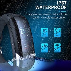 Image 4 - ECG PPG Smart Bracelet HRV Heart Rate Blood Pressure Monitor Smart Band Men IP67 Waterproof Running Swimming Sport Wristbands