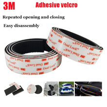 3M SJ3550 Velcros Adhesive Black Dual Lock Type 400/25.4mm Mushroom Reclosable Fastener Tape