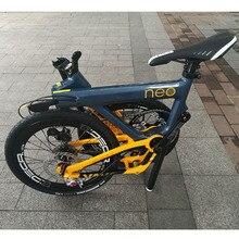 Нео карбоновый складной велосипед для взрослых 20 дюймов 406 колеса 11 скоростей дисковый тормоз складной Uniex высокое качество городской велосипед мини Velo