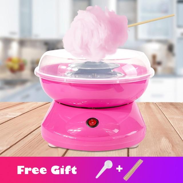 Điện Mới DIY Ngọt Máy Làm Kẹo Bông Gòn Di Động Bông Đường Chỉ Máy Làm Qùa Ngày Trẻ Em Marshmallow Máy