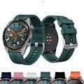22 мм ремешок для часов спортивный ремешок для Huawei watch GT 2 band active Honor Watch волшебный браслет силиконовый ремешок аксессуары