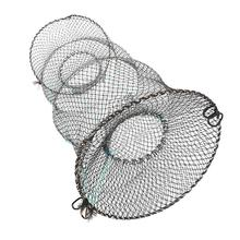 Fishing Tackle Net Fishing Net Cage Folding Fish Tackle Quick-drying Shrimp Net Fish Glue Shrimp Cage Fishing Net Accessores folding care network tackle fishing net crab fish trap 2m 2 5m 3m