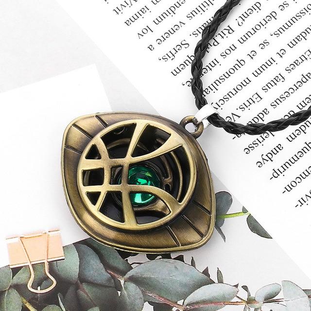 Doctor Strange Infinity War Eye of Agamotto Necklace Pendant (6 Designs) 1