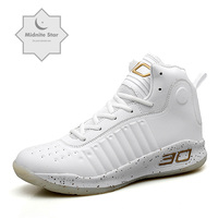 New Men's Basketball Shoes Unisex Star Lace Up Basketball Men's Sneakers Ball Super Zapatos Hombre Battle Boots big Size 36 47