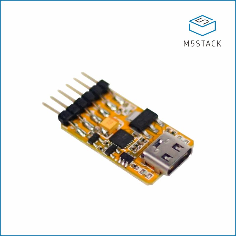 M5Stack USB-TTL UART Serial Adapter Micro Controller 6PIN Auto Downloader Type C USB