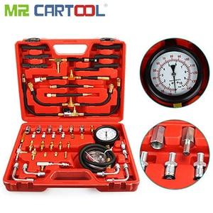 Image 5 - TU 443 Universal Car Diesel Fuel Pressure Gauge Tester Sensor Kit Auto Manometer Engine Testing Fuel Injection Pump 0 140PSI