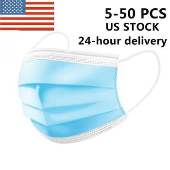 US STOCK jednorazowe respirator maska z filtrem 3 warstwy miękkie oddychające maski ochronne jak N95 KF94 FFP2 KN95 FFP3 24H wysyłka tanie i dobre opinie KKMOON NONE Chin kontynentalnych Disposable Face Mask respirator Features as N95 KF94 FFP2 KN95 FFP3 Non-woven Fabrics + Polypropylene Fibers