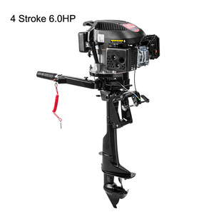 Image 2 - 4 Stroke 4HP 6HP 7HP Outboard motor Boat Engine Boat Motor Air Cooling System Hand start Motor High Quality