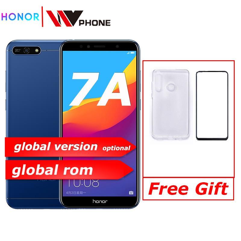 Global Rom Original Honor 7A 5.7 Inch  Snapdragon 430 Octa Core  Dual Rear Camera 3000mAh