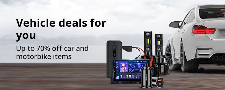 aliexpress.com - Up To 70% off on Car and Motorbikes Accessories
