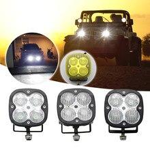 SUHU 1/2 pièces 40w faisceau combiné LED clignotant tout-terrain voiture camion tout-terrain véhicule ATV UTY UTE LED lumière de conduite