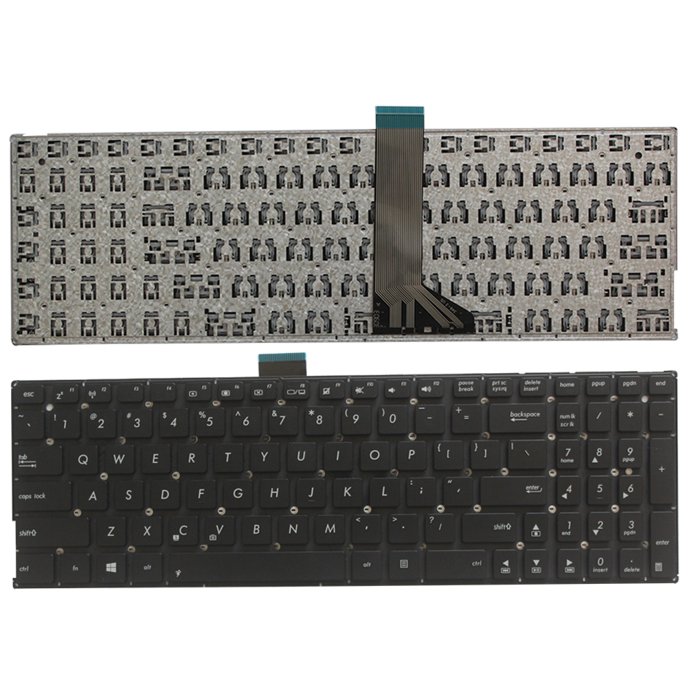 US Keyboard For ASUS X553 X553M X553MA K553M K553MA F553M F553MA Black Laptop Keyboard