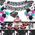 Тик День рождения украшение шары для детей; Подарок для детей, хороший подарок на день рождения, украшения для вечеринок