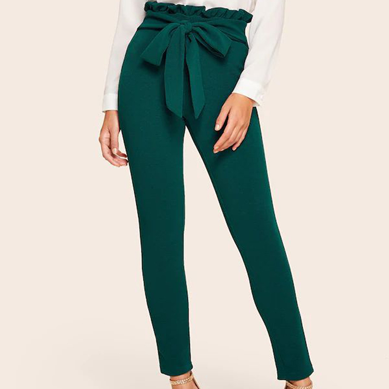 women's Nine-point Tight Pants Slim Trousers High Waist 19 Autumn And Winter Pencil Pant New Tights Plus Size Pants 3