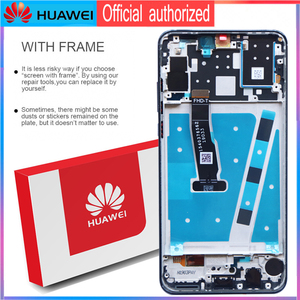 Image 3 - Originele 6.15 Display Met Frame Vervanging Voor Huawei P30 Lite Nova 4e Lcd Touch Screen Digitizer Vergadering MAR LX1 LX2 AL01