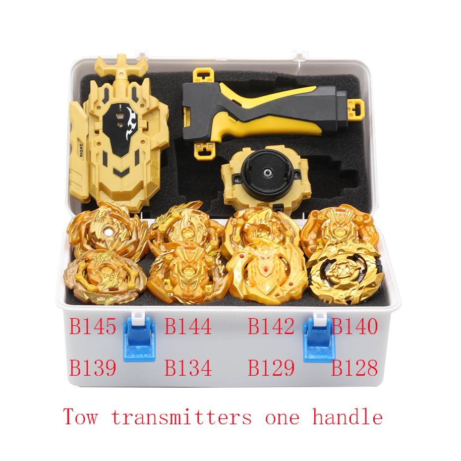 New Gold Suit Beyblade B-145 Beyblades Metallic Bables Set Burst Box Bey Blade Beyblade Children's Toys