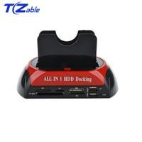 IDE SATA Dual All In 1 Hd/HDD Dock/Docking Station Hard Disk/Drive Hdd 2.5 3.5 Reader Usb EU External Box Enclosure Case