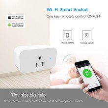 ZUCZUG  10A 110-240V Wifi Smart Switch Socket Mobile Remote APP Control Timing Home Voice Light