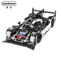1586 pçs cada móvel moc rc power função técnica super esporte velocidade do carro campeões cidade móvel bloco de construção tijolo