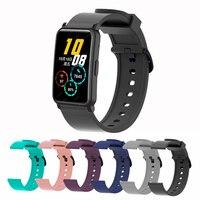 Cinturino in SIlicone per Huawei HONOR Watch ES Smartwatch cinturino da polso sostituisci cinturino per Honor ES nero Correa