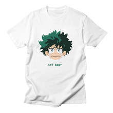 Anime My Hero Academia 이즈 쿠 미도리 야 코스프레 Boku No Hero Academia 티셔츠 반소매 티셔츠 Mens T Shirts Fashion 2020(China)