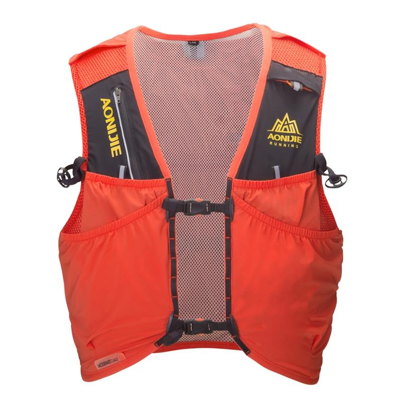 AONIJIE hommes femmes course hydratation sac à dos sport Nylon sac léger respirant 8L randonnée cyclisme Marathon gilet Pack - 2