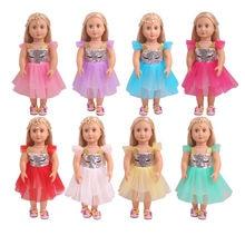 Кукольная одежда для новорожденных 18 дюймов американская 43