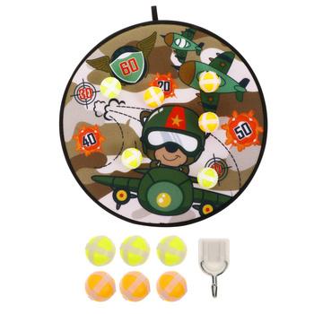 1 zestaw Cartoon tarcza do darta tarcza do darta tarcza do darta dla dzieci tarcza do darta z kulkami tanie i dobre opinie CN (pochodzenie) Other 3 lat Dart Plate Throw Dart Darts Board Sticky Dart Educational Plaything