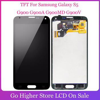 For SAMSUNG Galaxy S5 i9600 G900 G900F G900A LCD Display Digitizer Touch Screen Panel Assembly + Free Tools image
