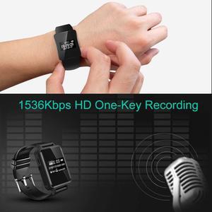 Image 5 - Draagbare Digitale Voice Recorder Stereo Audio Opname Smart Armband Horloge Stappenteller Hifi Loseless MP3 Speler V81