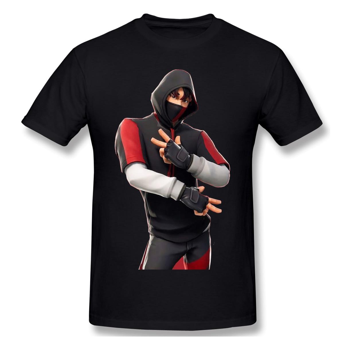 New Summer T Shirt Battle T-Shirt 100 Percent Cotton Fortniter Cute Tee Shirt Basic Short Sleeve Man Tshirt