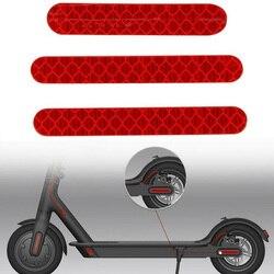 3 шт. электрический скутер ночное Безопасность полосы отражатели Ninebot Es2 Es3 Es4 полосы отражатель скутер аксессуары рефлектор скутера