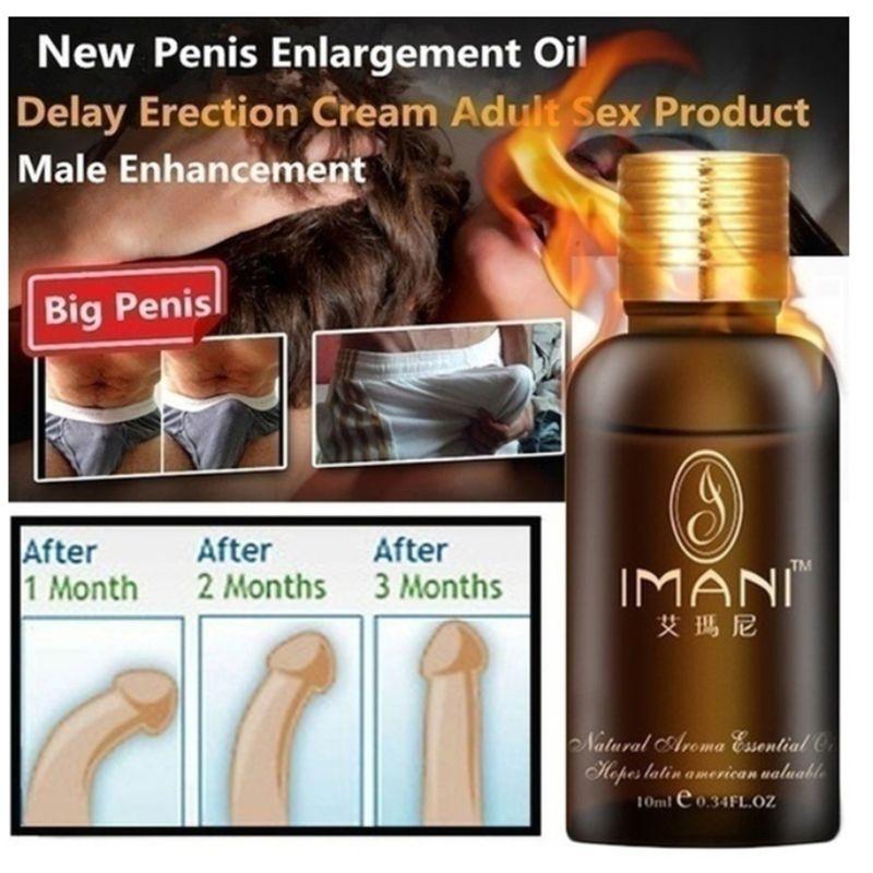 10ml Men Penile Growth Bigger Essential Oil Enhancement Enlarge Massage Liquid E65F