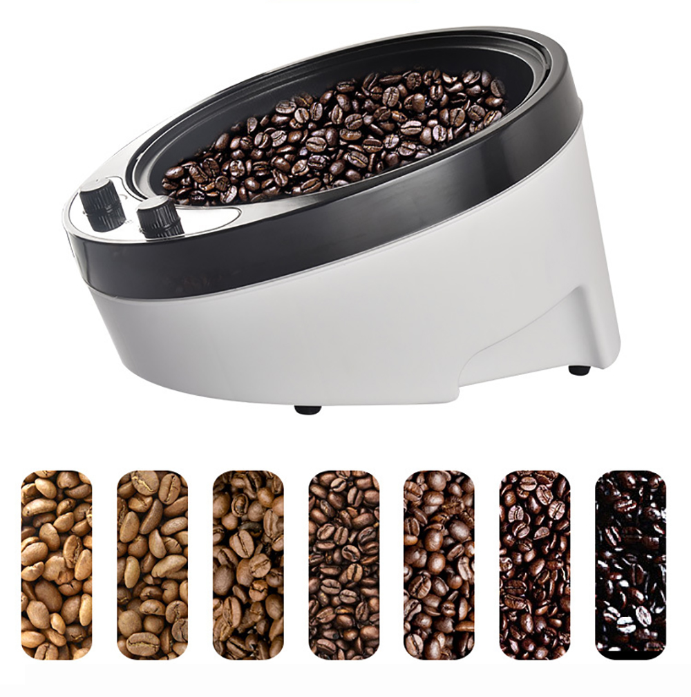 220V Electric Coffee Grain Roaster Grains Peanuts Sesame Baking Machine Tea Dryer 1800W Y