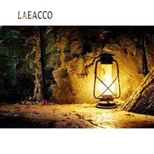 Laeacco Old Stone Cave Lantern Fairytale Baby Portrait Scenic Photo Backgrounds Photographic Backdrops Photocall Studio