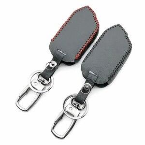 Image 5 - 2 Way LCD المفاتيح عن بعد 100% حافظة جلدية لنظام إنذار سيارة شير خان Mobicar A Mobicar B مفتاح حماية قذيفة