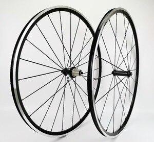 700C 1370g Kinlin XR200 шоссейный велосипед 19 мм ширина 22 мм Глубина шоссейный велосипед Алюминиевый сплав колесная установка супер светильник для ск...