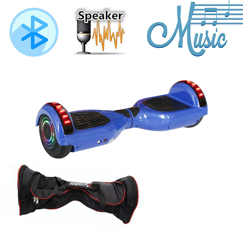 6.5'' self-balancing Hoverboards or electric skateboard with Bluetooth and Two Wheels 5