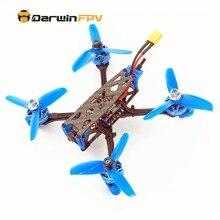 Darwinfpv zangão quadcopters darwin79 140mm johnny 3 Polegada diy versão f4 osd 30a blheli_s dshot600 40ch 200mw 1200tvl
